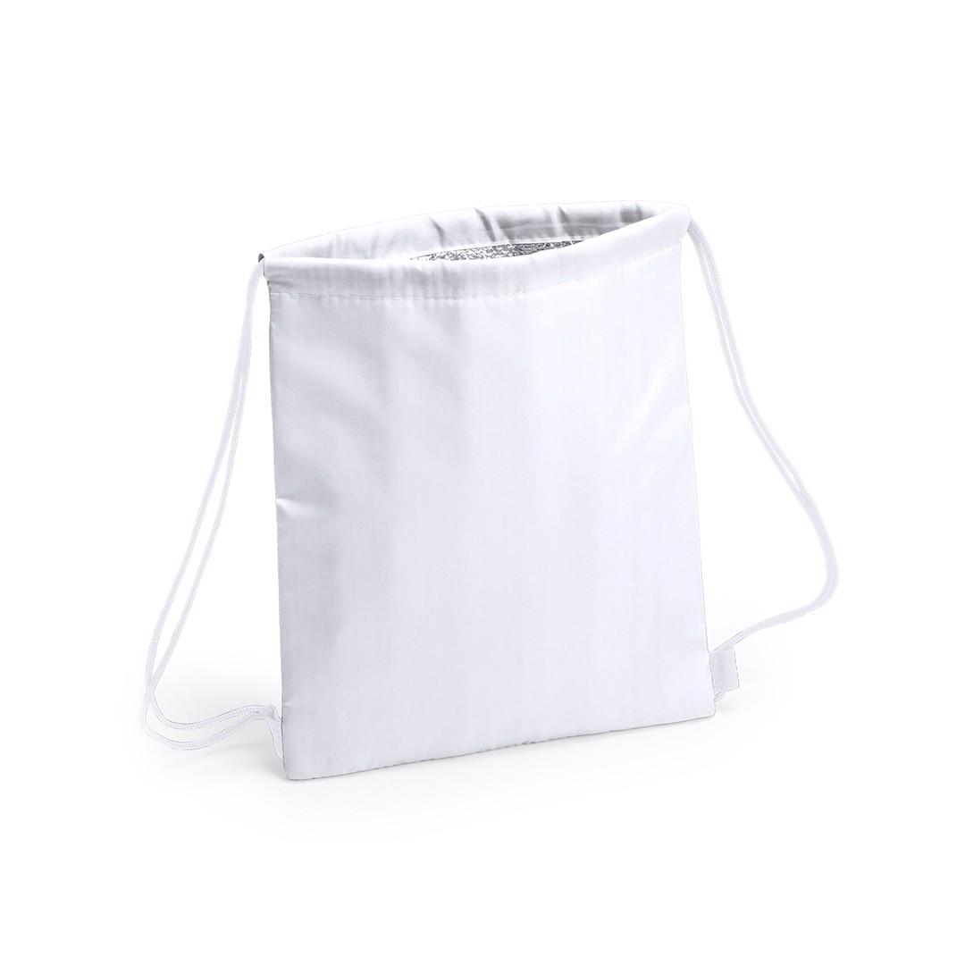 Drawstring Cool Bag Tradan - White