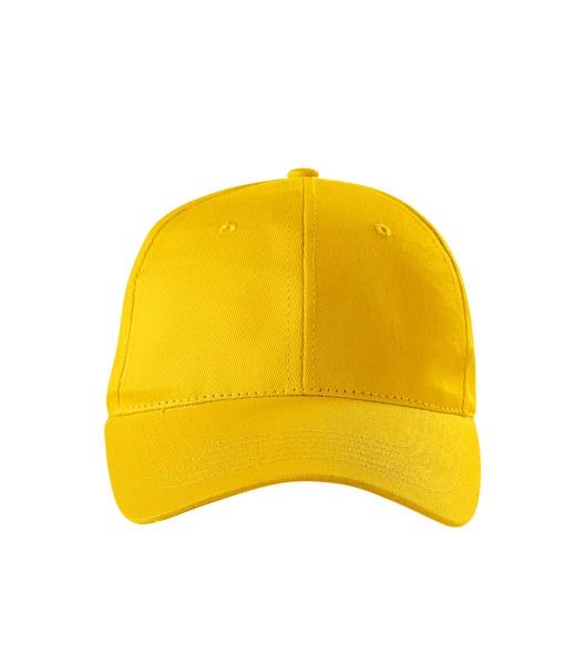 Cap unisex Piccolio Sunshine - Yellow / adjustable
