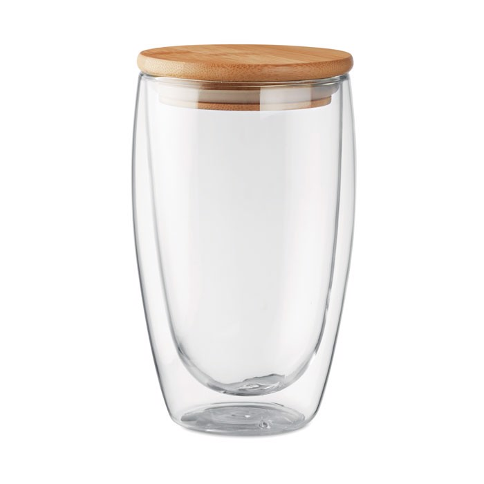 Dvostenski kozarec Tirana Large 450 ml