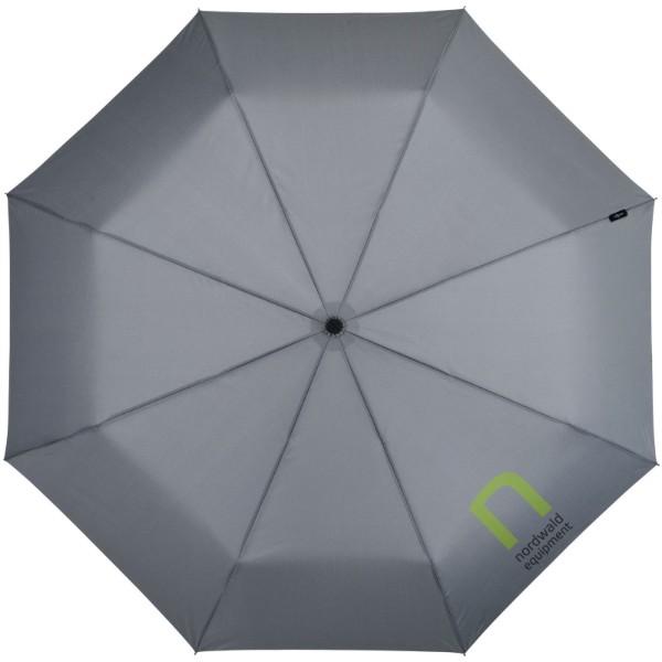 """21,5"""" skládací deštník Traveller s automatickým rozevíráním/skládáním - Šedá"""
