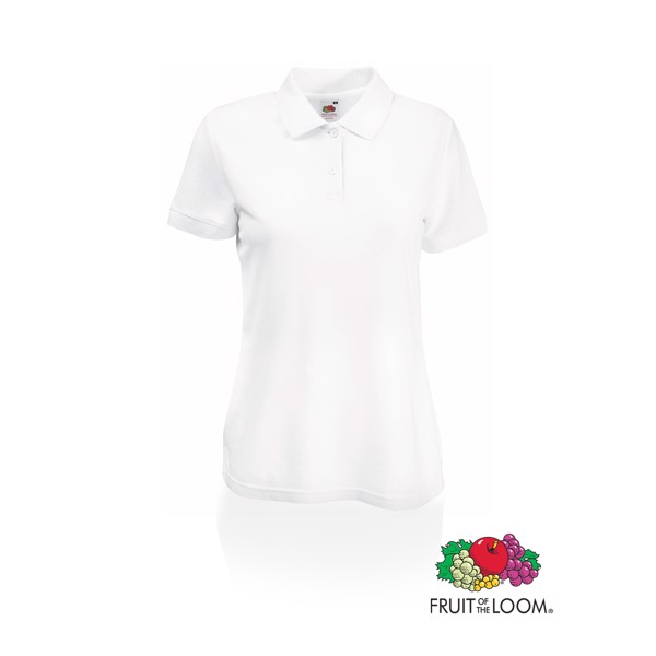 Polo Mujer 65/ 35 - Blanco / L
