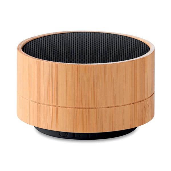 3W Bamboo wireless speaker Sound Bamboo - Black