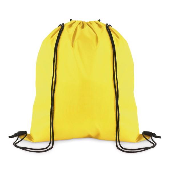 Stahovací batoh z polyesteru Simple Shoop - yellow