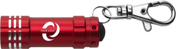 Aluminium 2-in-1 key holder - Silver