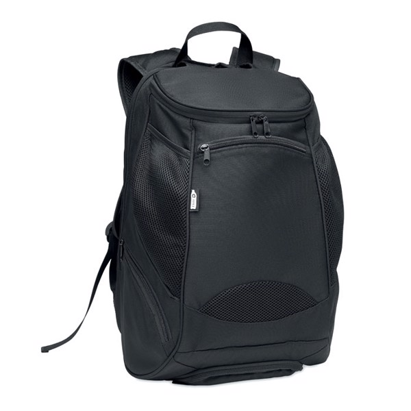 600D RPET sports rucksack Olympic