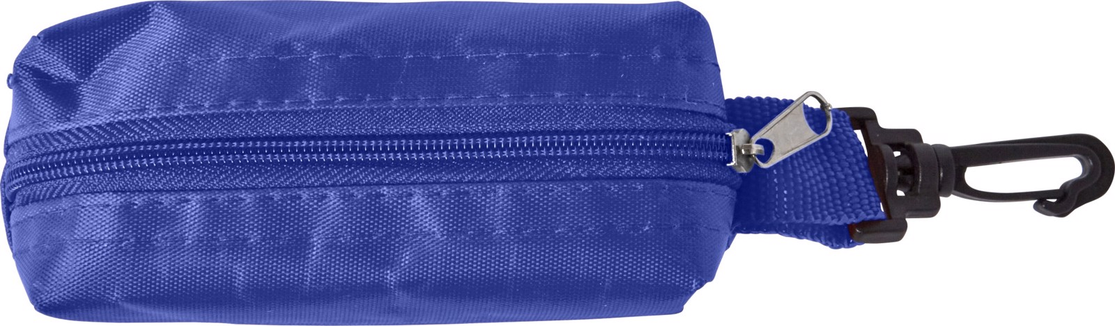 Polyester pouch with pencils - Blue