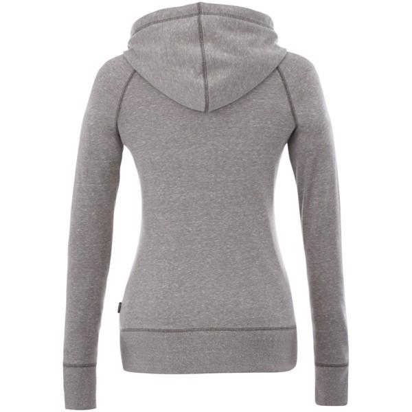 Groundie full zip ladies hoodie - Grey melange / L