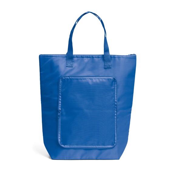 MAYFAIR. Foldable cooler bag - Royal Blue