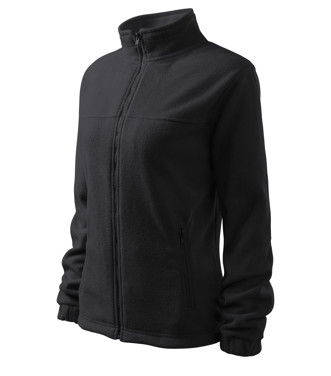 Fleece dámský Malfini Jacket - Ebony Gray / 2XL