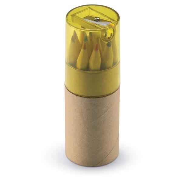 12 coloured pencils Lambut - Transparent Yellow