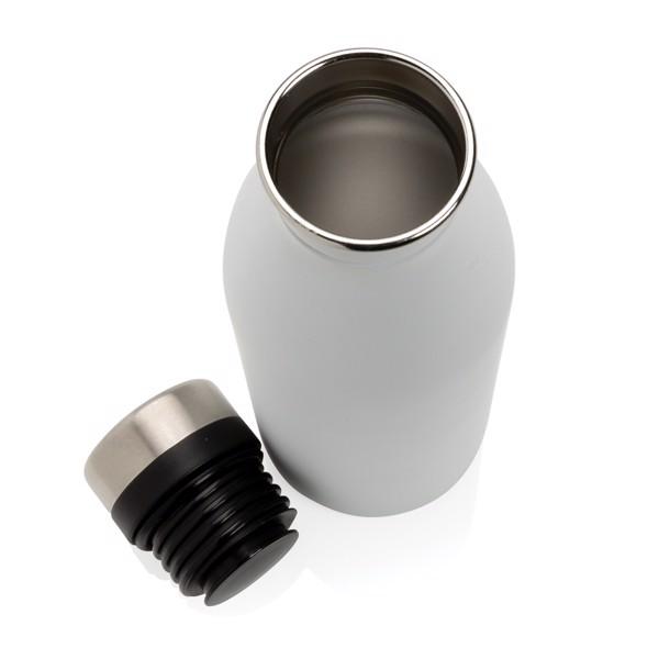 Deluxe vizespalack rozsdamentes acélból - Fehér