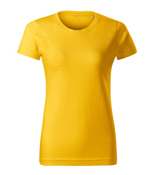 Tričko dámské Malfini Basic Free - Žlutá / 2XL