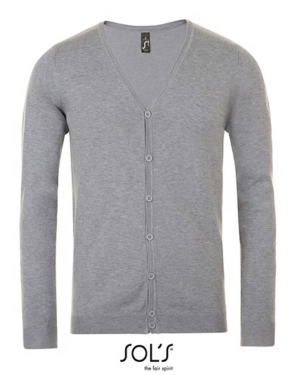 Griffith Sweater - Grey Melange / 3XL