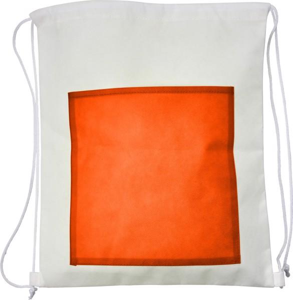 Nonwoven (80 gr/m²) backpack - Orange