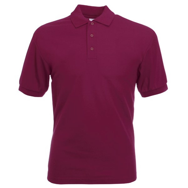 Férfi pólóing 170/180 g/m2 65/35 Blended Polo 63-402-0 - Burgundy / 3XL