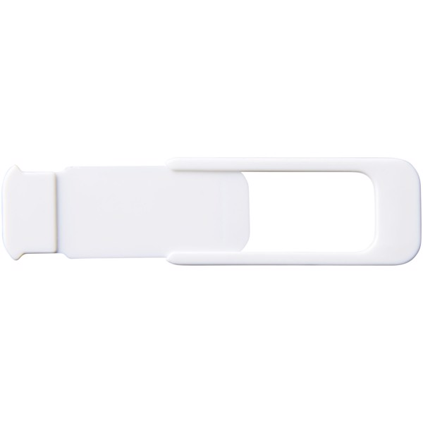 Push privacy camera blocker - White