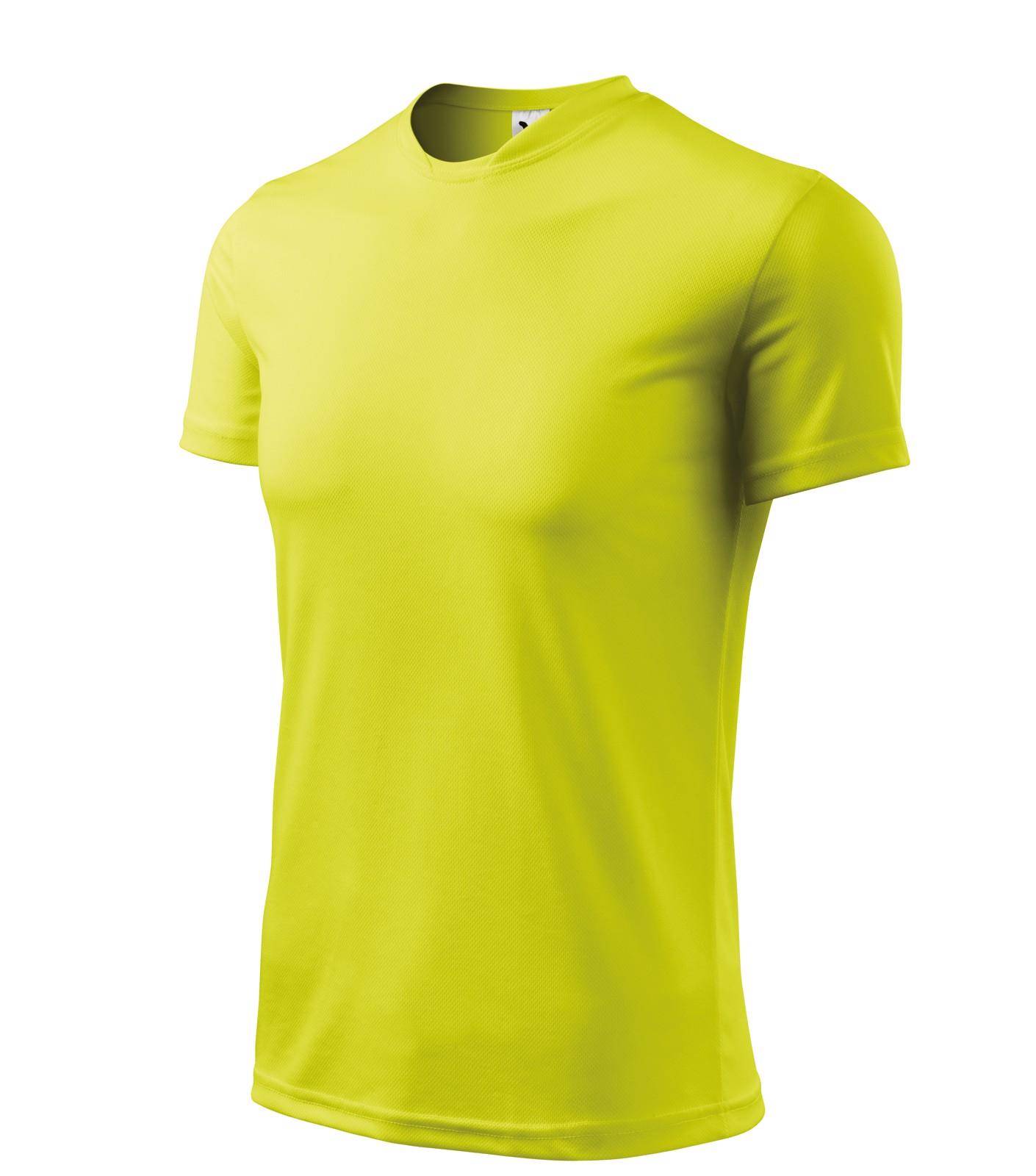 Tričko pánské Malfini Fantasy - Neon Yellow / XS