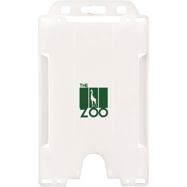 Pierre badge holder - White
