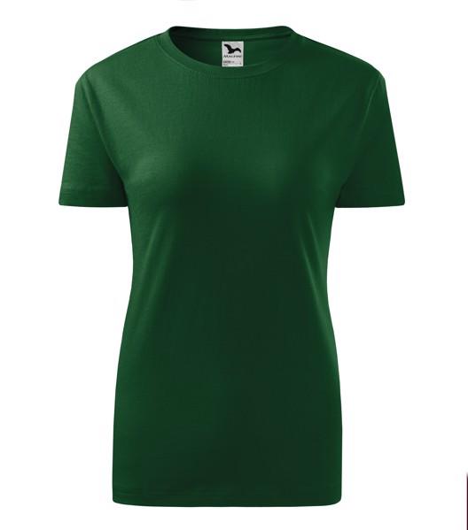 Tričko dámské Malfini Classic New - Lahvově Zelená / 2XL