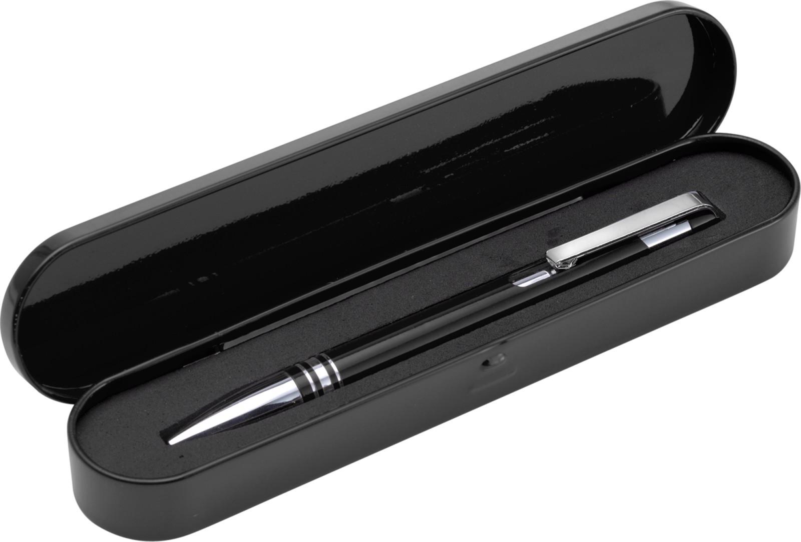 Aluminium ballpen - Black