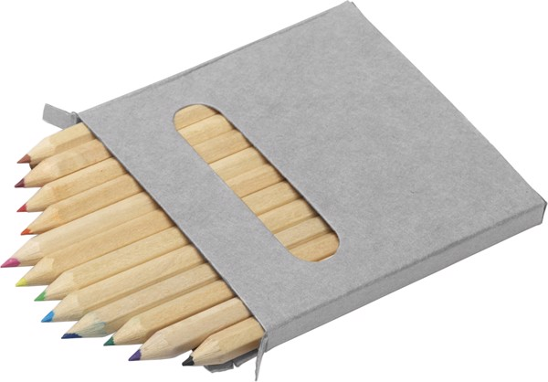 Wooden pencil set