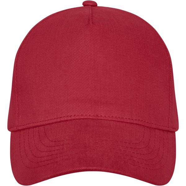Doyle 5 panel cap - Red
