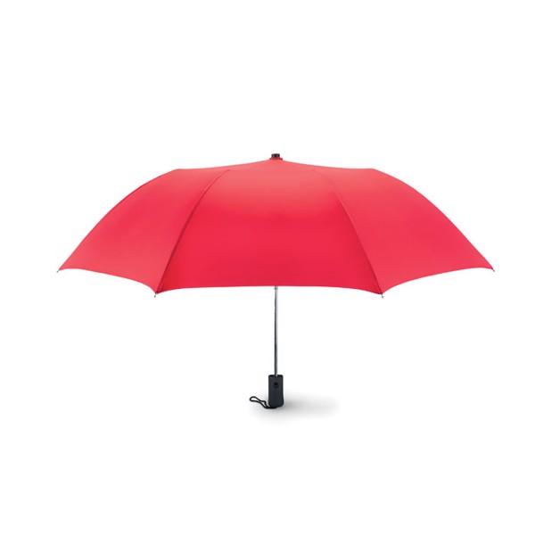 21 inch auto open umbrella Haarlem - Red