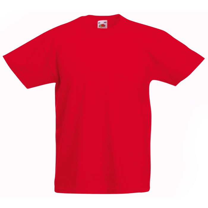 Kinder T-Shirt 165 g/m² Kids Value Weight 61-033-0 - Red / M