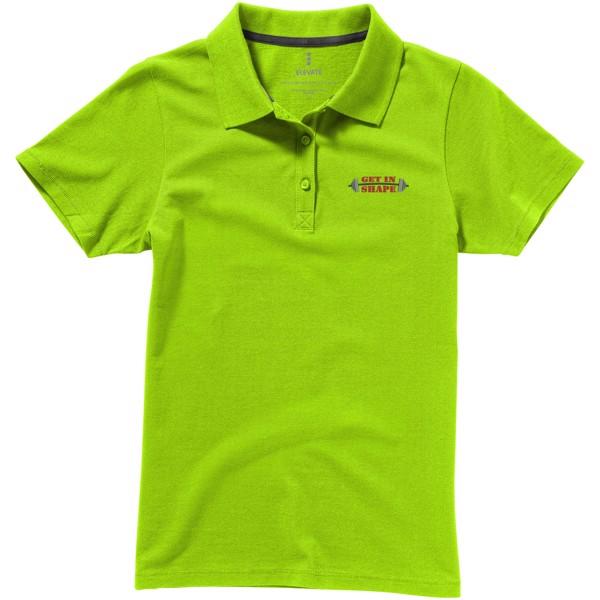 Seller short sleeve women's polo - Apple green / XS