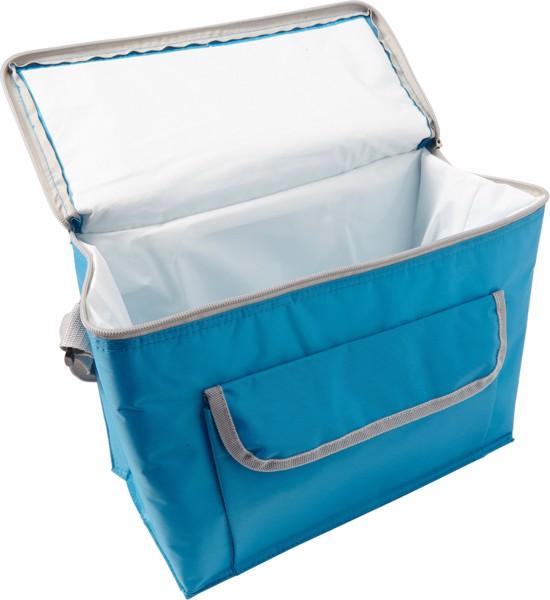 Polyester (420D) cooler bag - Lime