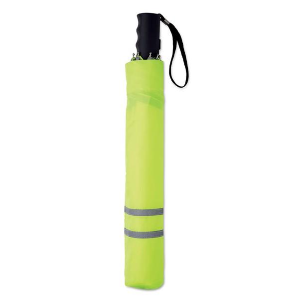 Regenschirm 53cm Neon - neon grün