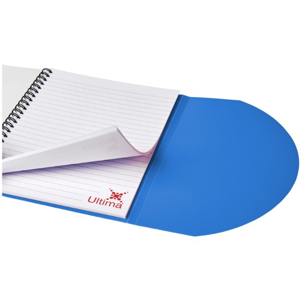 Poznámkový blok Curve A5 - Modrá / Bílá