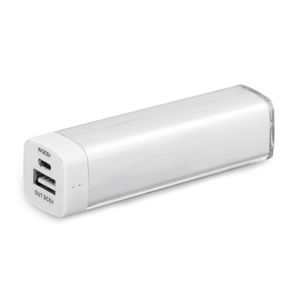 POWERS. Portable battery - White