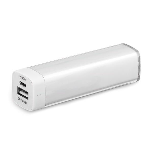 POWERS. Powerbank - Weiß