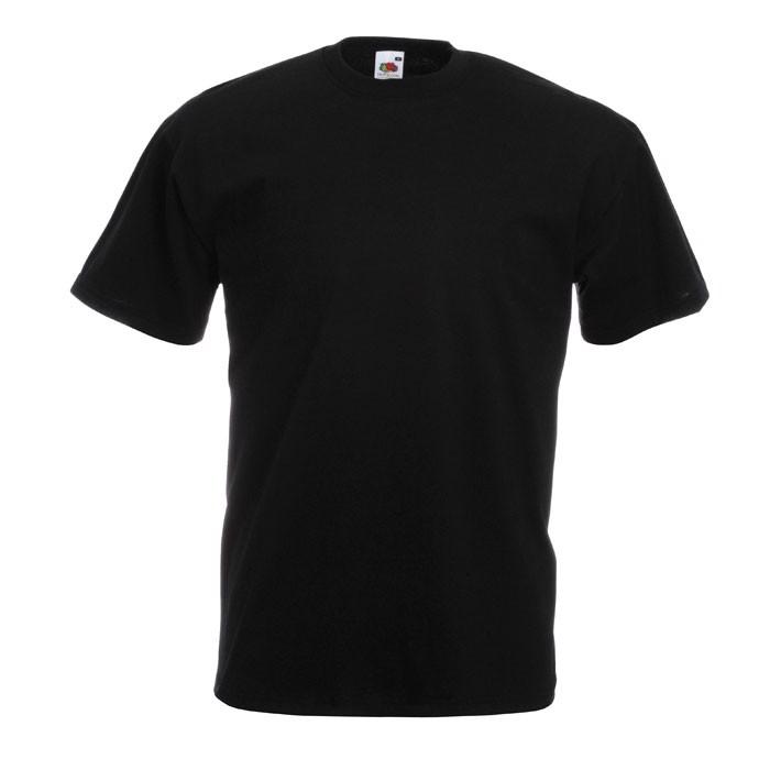 T-shirt 165 g/m² Value Weight T-Shirt 61-036-0 - Black/Black Opal / 5XL