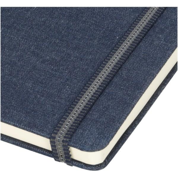 Notes materiałowy A5 Jeans - Jasnoniebieski