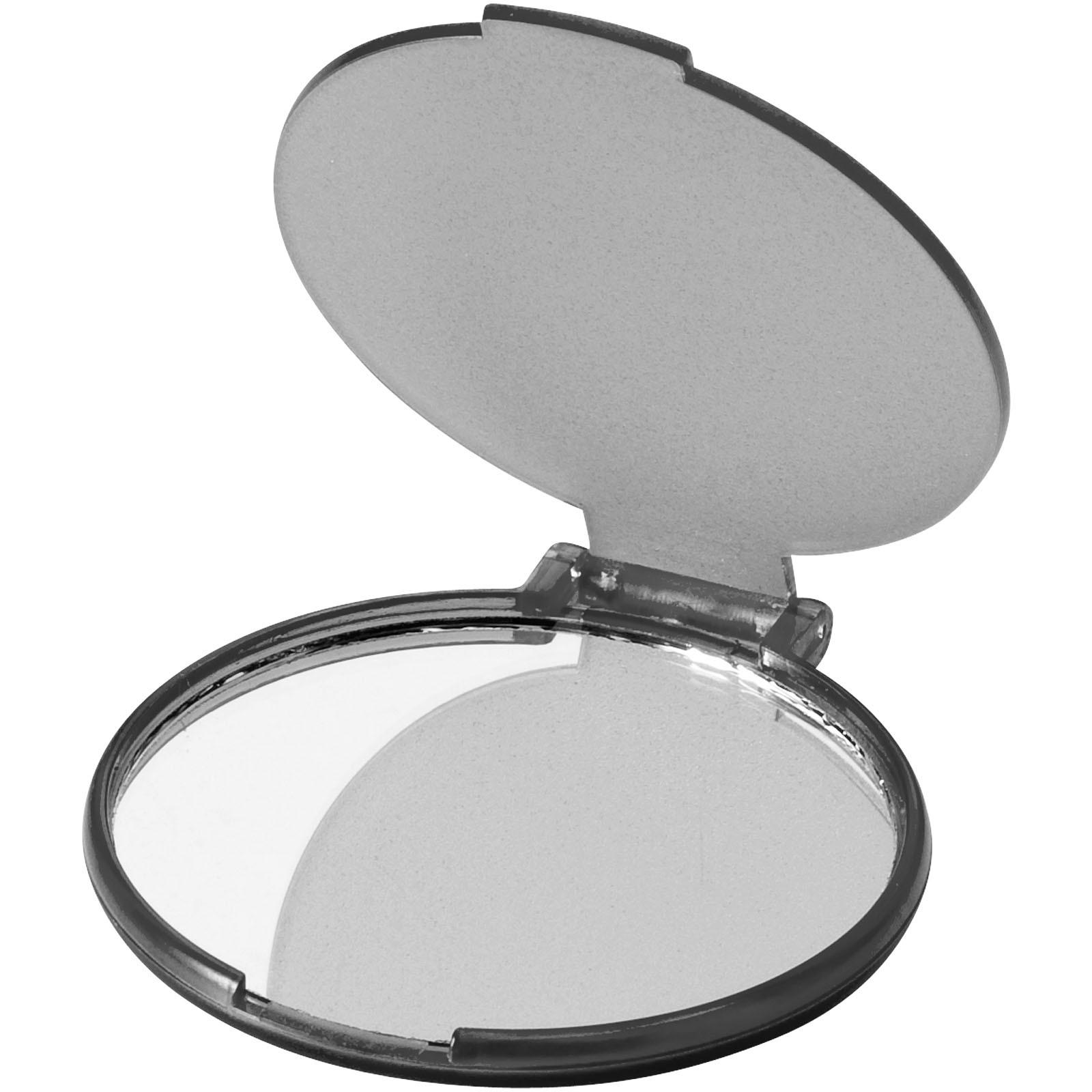Carmen glamour mirror - Transparent black