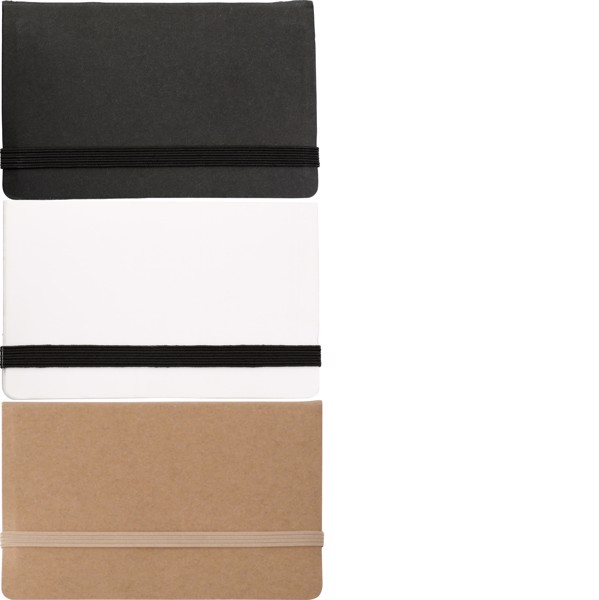 Bloc de cartón con memos adhesivos - Brown