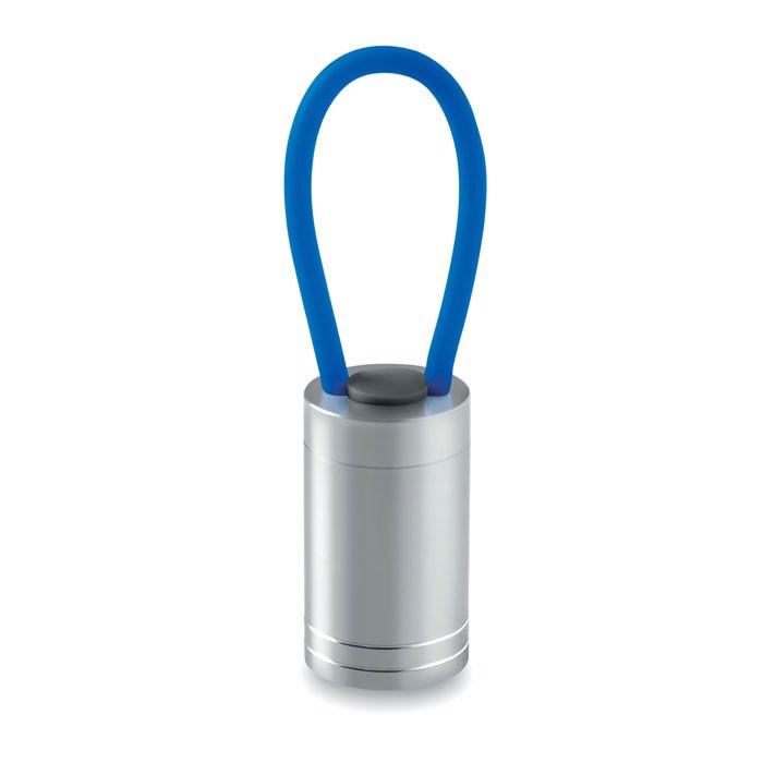 Aluminiowa latarka Glow Torch - niebieski