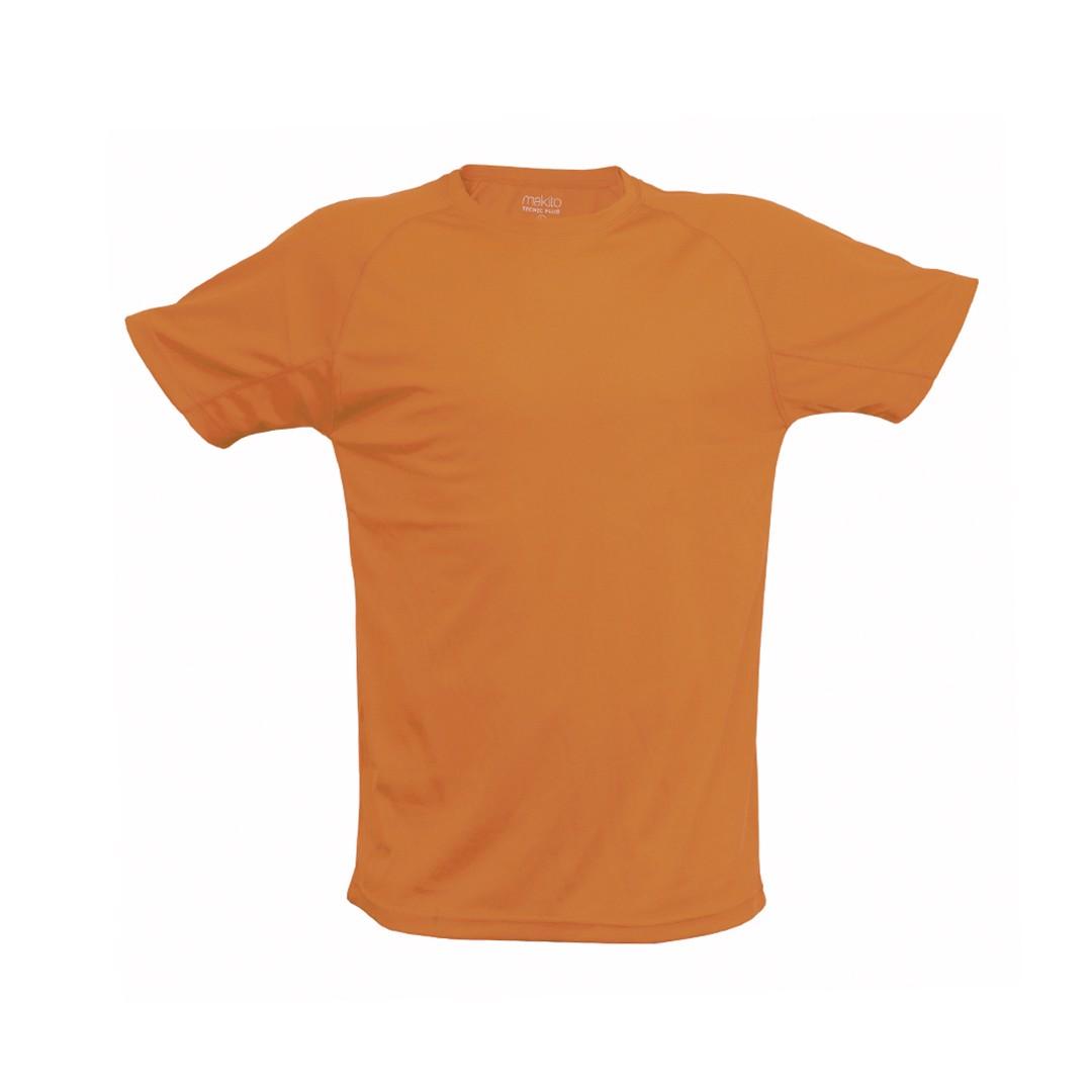 T-Shirt Adulto Tecnic Plus - Orange Fluor / XXL