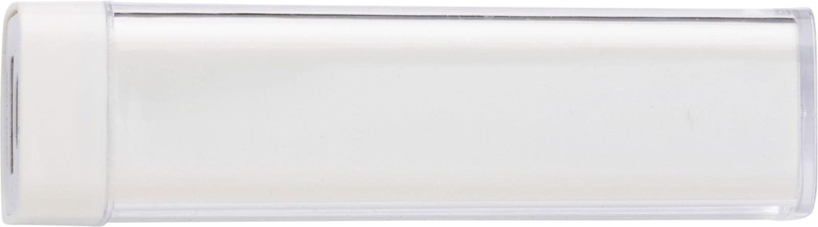 ABS power bank - White