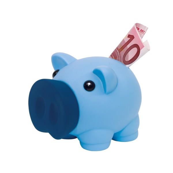 Pokladnička Ve Tvaru Prasátka Money Collector / Modrá
