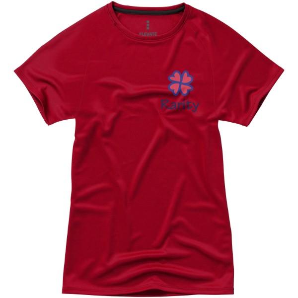 Niagara short sleeve women's cool fit t-shirt - Red / XS