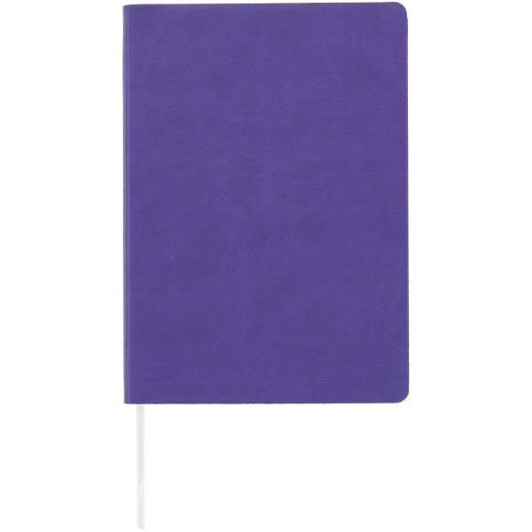 Liberty soft-feel notebook - Purple