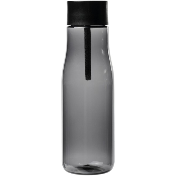 Ara 640 ml Tritan™ sport bottle with charging cable - Smoked