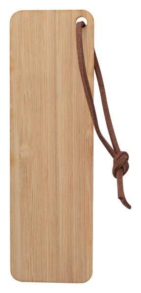 Semn De Carte Din Bambus Boomark - Natural