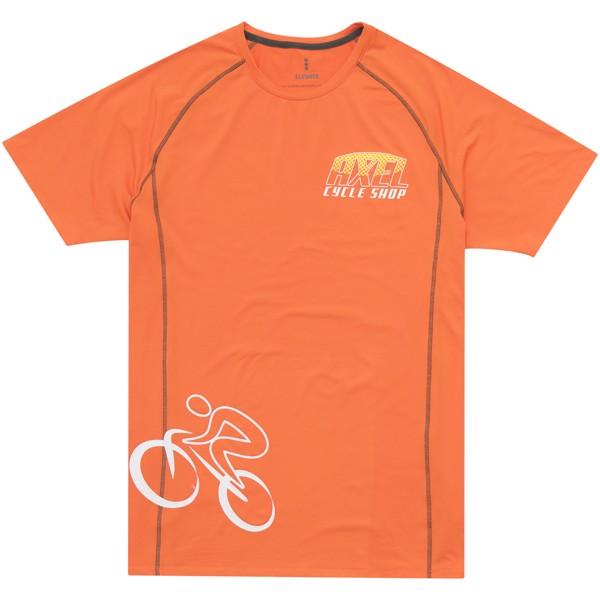 Pánské triko Kingston s krátkým rukávem, s povrchovou úpravo - Orange / XXL