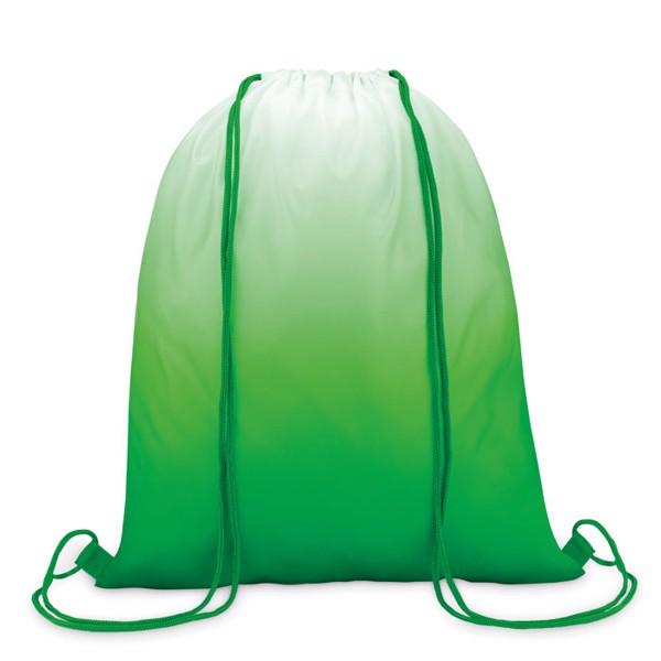 Worek ze sznurkiem Fade Bag - zielony