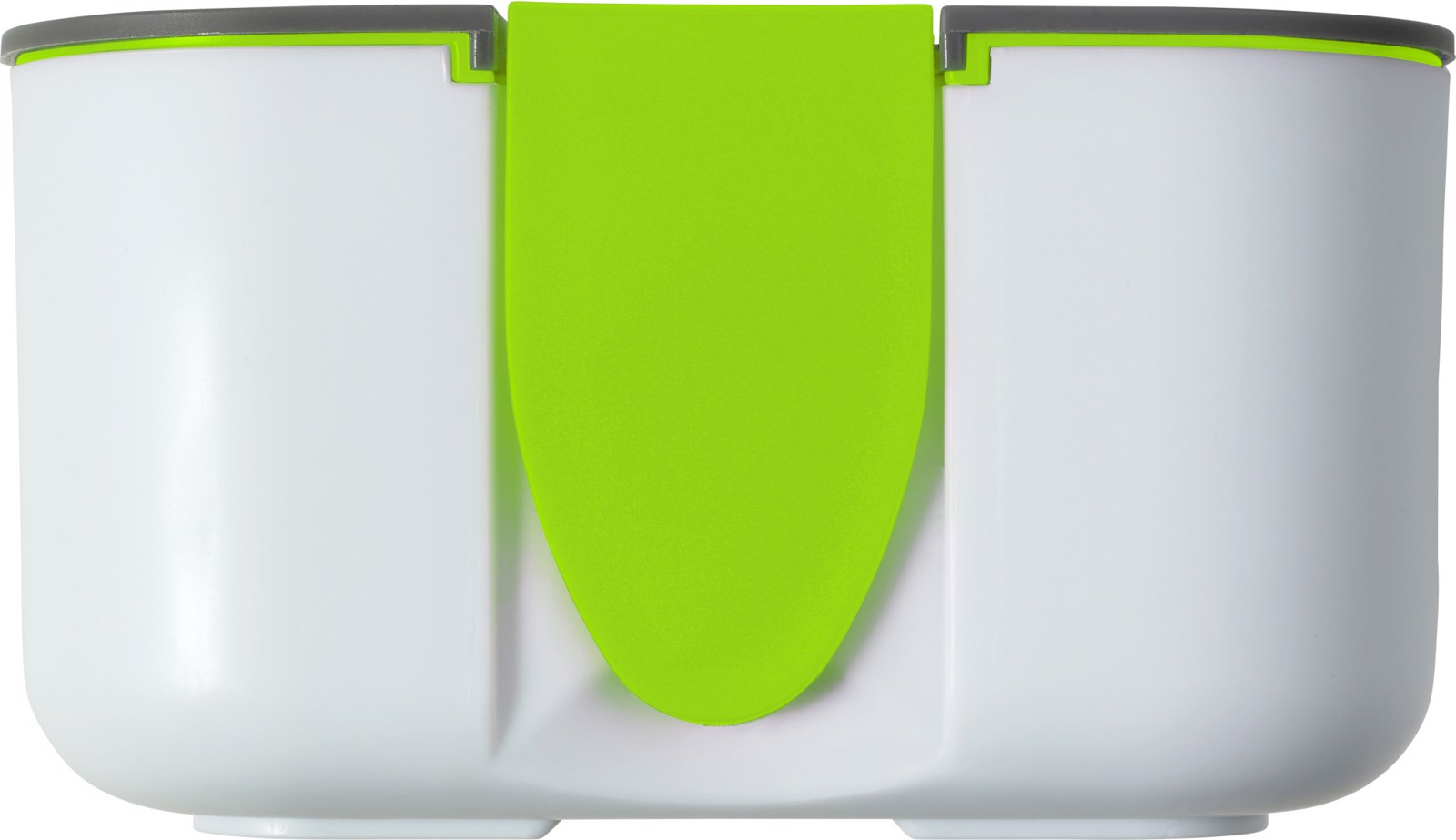 PP and silicone lunchbox - Lime