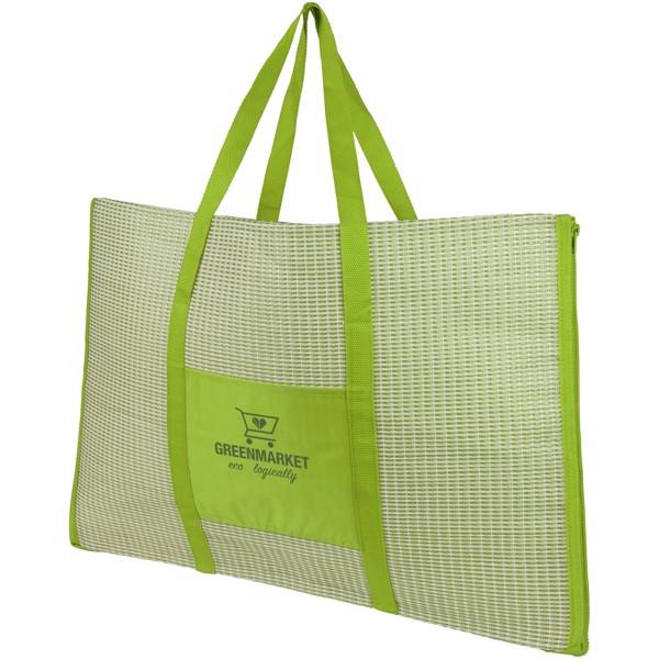 Bonbini faltbare Strandtasche und Matte - Limone